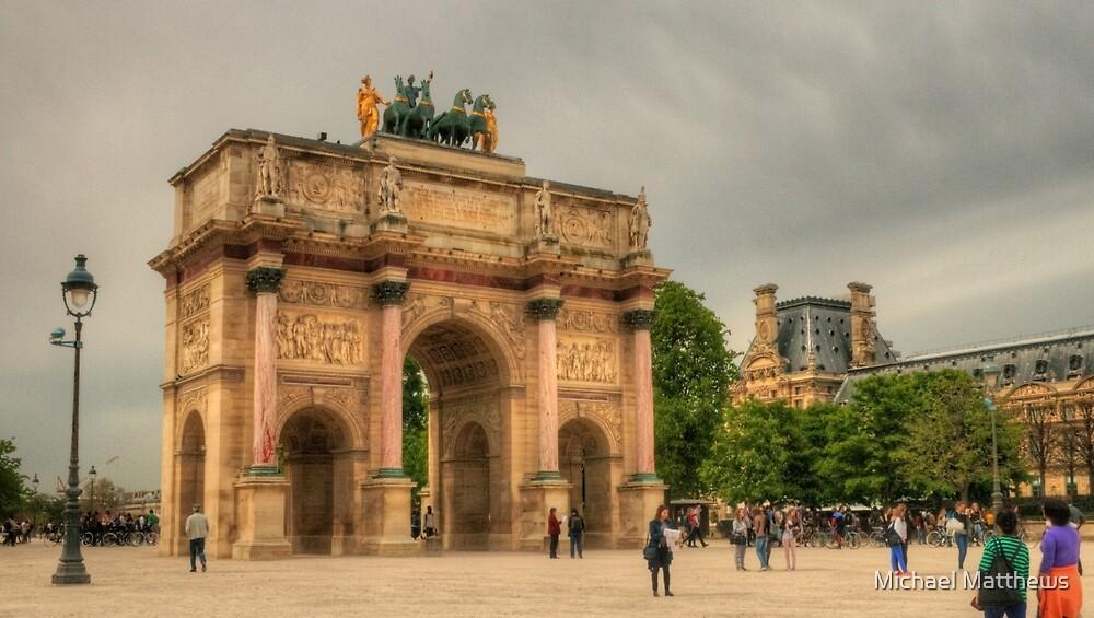 Arc de Triomphe du Carrousel by Michael Matthews