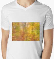 Autumn Colours - no8300 Men's V-Neck T-Shirt