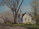 Calapooia Church by Karen Ilari