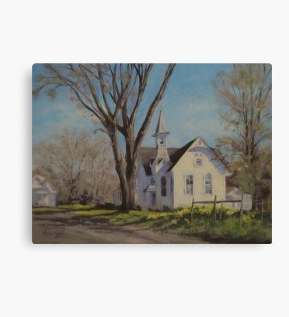 Calapooia Church Canvas Print