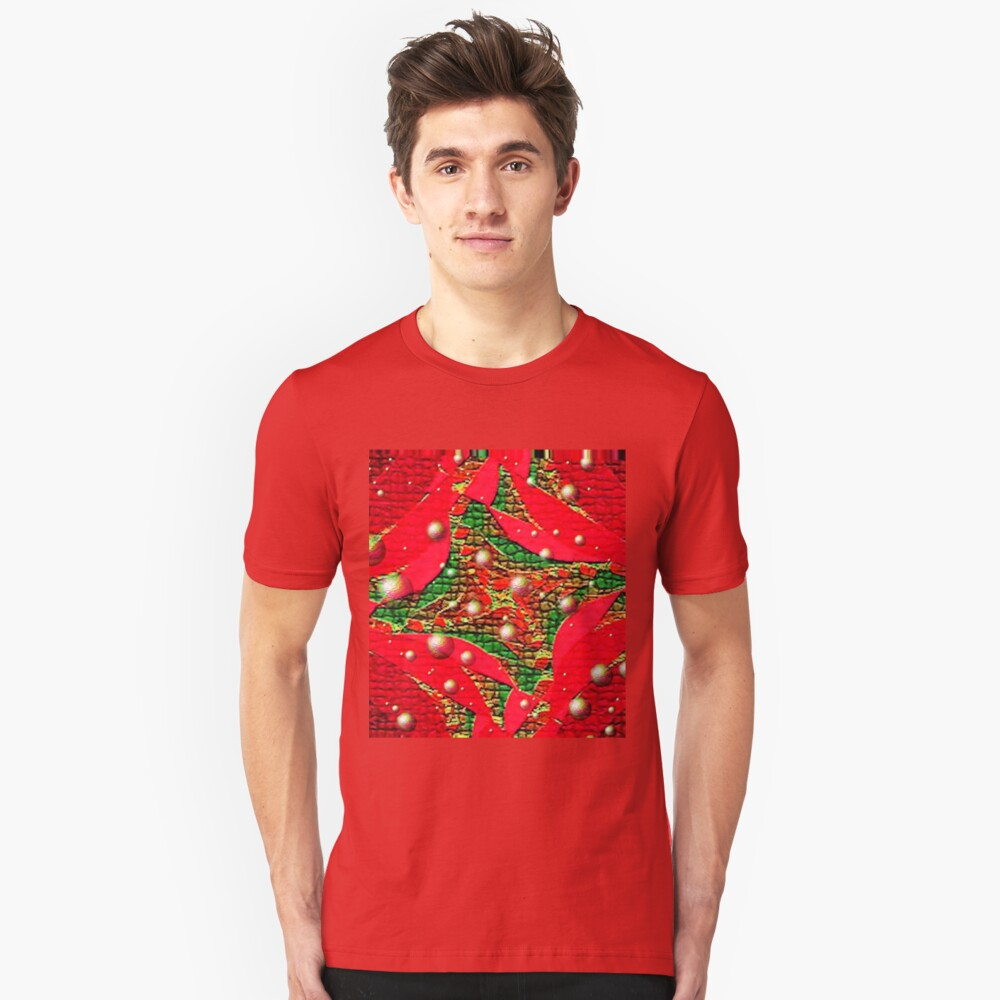 Red For Christmas Unisex T-Shirt Front