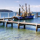 Fishing Boat at Batemans Bay, NSW by Christine Smith