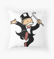 mr mono Throw Pillow