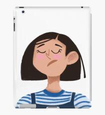 Unhappy Girl iPad Case/Skin