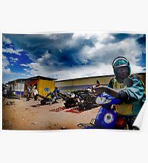 Rwandan Courier Poster