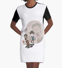 Die Walking Dead Coral T-Shirt Kleid