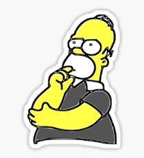 Homer Sticker