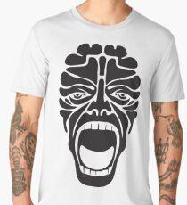terrifying scream Men's Premium T-Shirt