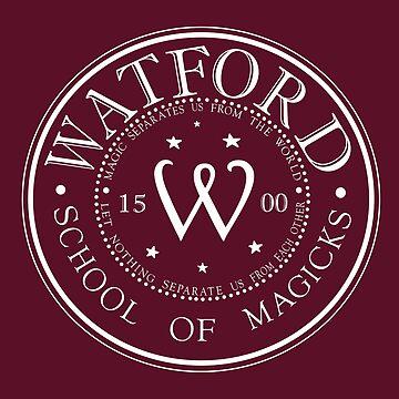 Watford School of Magicks by SymmetryIsArt