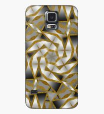 Winter Shades of Gray Pattern T1 Case/Skin for Samsung Galaxy