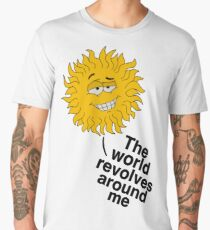 Self Centred Sun Men's Premium T-Shirt