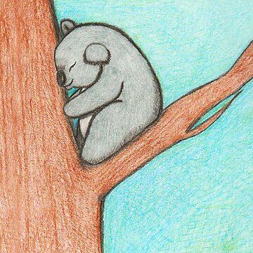 Sleepy Koala by blakcirclegirl