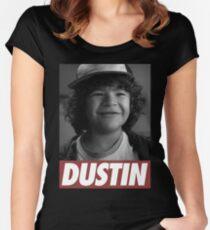 Dustin - Stranger Things Women's Fitted Scoop T-Shirt