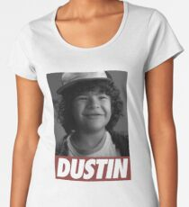 Dustin - Stranger Things Women's Premium T-Shirt