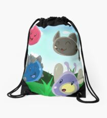 Slimes Drawstring Bag