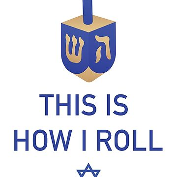 Happy Hanukkah Dreidel by morethanshirts