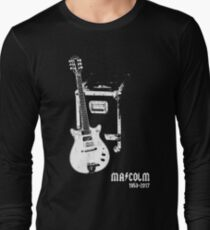 Malcolm Young -Rare guitar tribute shirt- T-Shirt