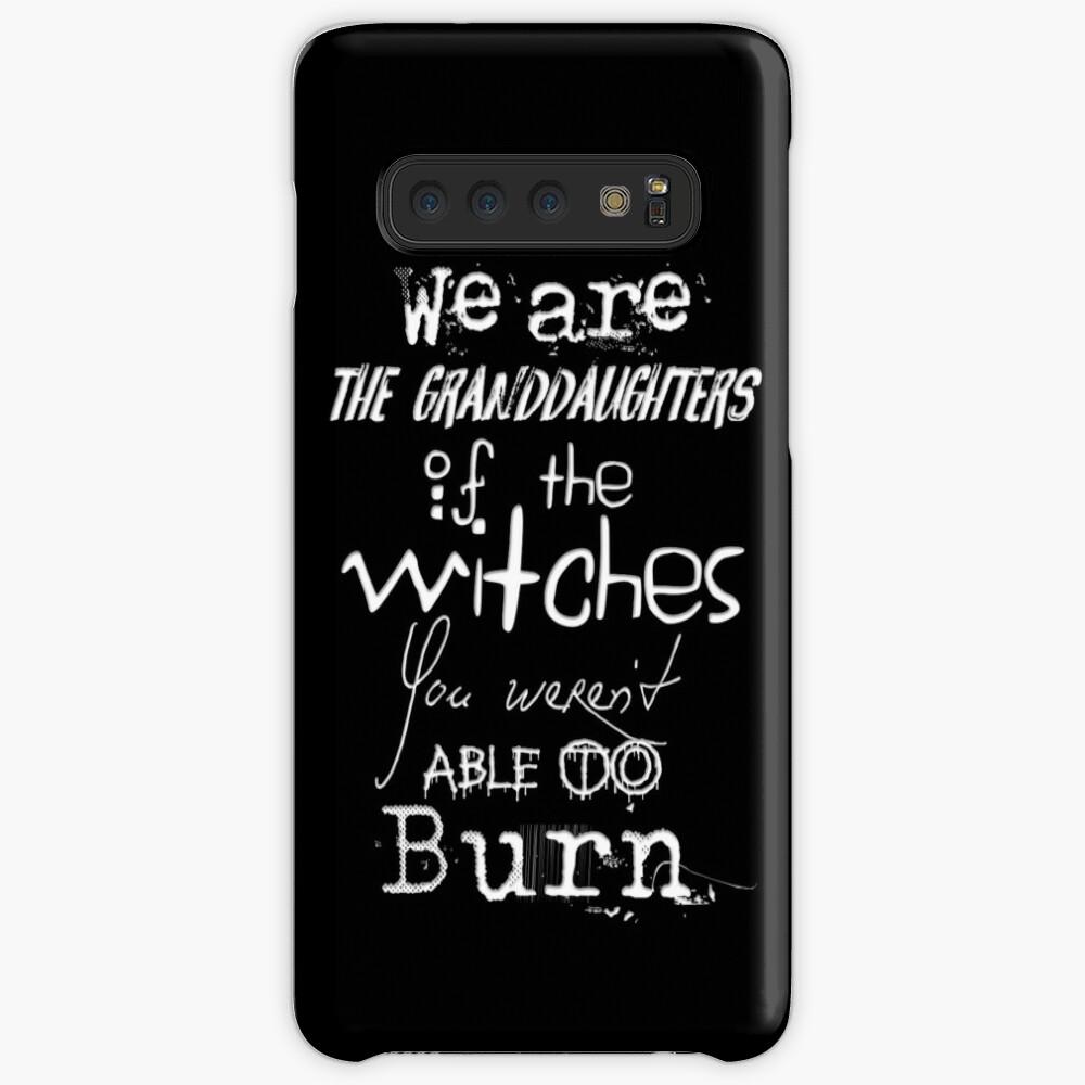 Somos las nietas de las brujas que no pudieron quemar ... Funda y vinilo para Samsung Galaxy