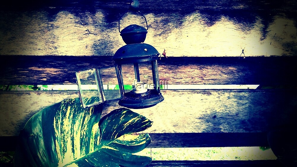 little glass light house by Jadelilli