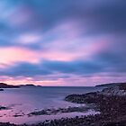 Tranquil evening at Badnaban, Assynt, Scotland by Cliff Williams