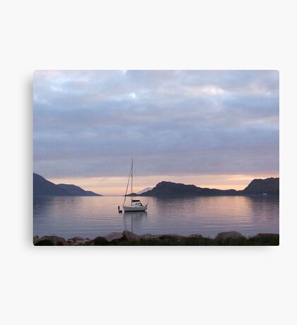 perfect anchorage Canvas Print
