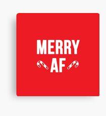 Merry AF Canvas Print