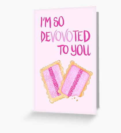 Iced Vovo - Devovoted To You Greeting Card