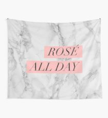 Rose All Day Wall Tapestry