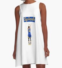 Steph Curry Splash Brothers A-Line Dress