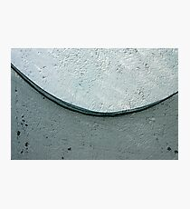 Net on the wall Photographic Print
