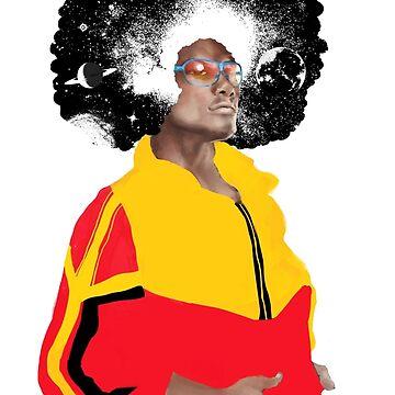 Kosmik Afro by dibuholabs