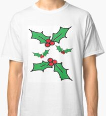 Christmas Holly Classic T-Shirt