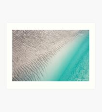 Rippled Art Print