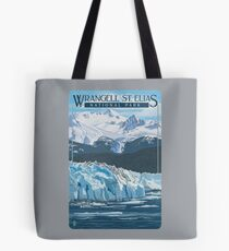 Wrangell - St. Elias National Park and Preserve Alaska USA Travel Decal Tote Bag