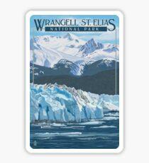 Wrangell - St. Elias National Park and Preserve Alaska USA Travel Decal Sticker