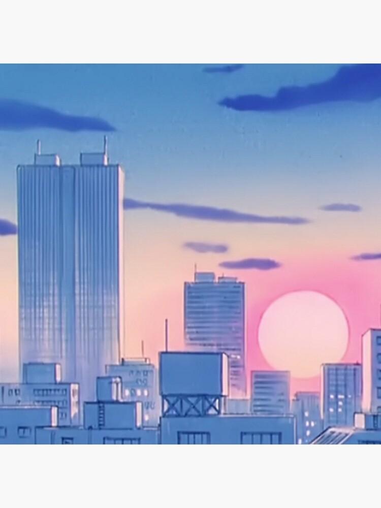 Sailor Moon City Landschaft von Freshfroot