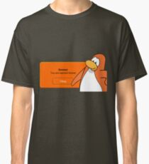 CLUBPENGUIN BANNED FOREVER Classic T-Shirt