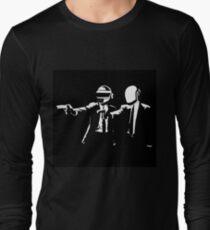 daft punk logo artwork Long Sleeve T-Shirt