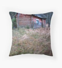 'Slow Death of Sauna' (HDR) Throw Pillow