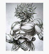 Broly (ブロリー) Dragon Ball Artwork  Photographic Print