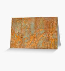 Rusty metal1 Greeting Card
