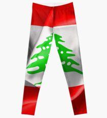 Lebanon Flag Leggings