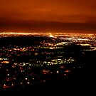 Golden Colorado at Night by Clayton Bruster