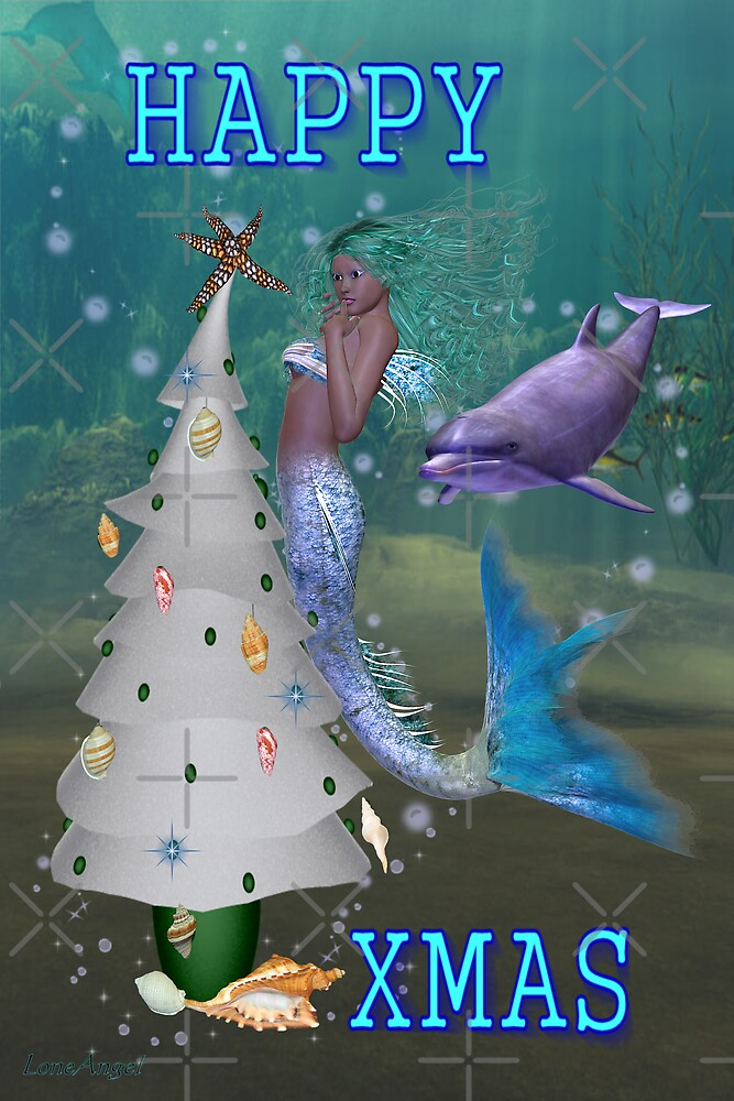 Mermaid Christmas by LoneAngel