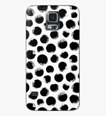 Grunge Polka Dot Case/Skin for Samsung Galaxy