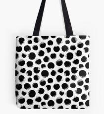 Grunge Polka Dot Tote Bag