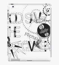 God Save The QVeen - Vivienne Icons  iPad Case/Skin