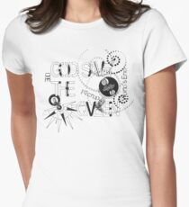 God Save The QVeen - Vivienne Icons  Women's Fitted T-Shirt