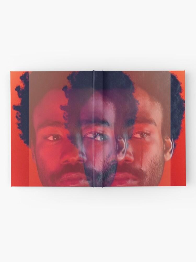 Alternative Ansicht von Doppel Gambino Tränen - Donald Glover Print Notizbuch