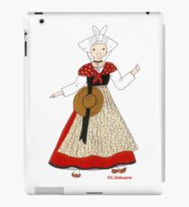 Costume traditionnel du MIDI, France iPad Case/Skin
